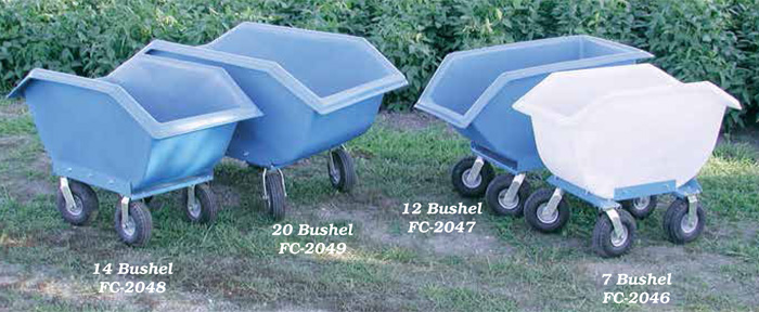Polydome Feed Carts